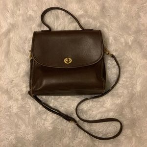 Vintage Coach Court Bag